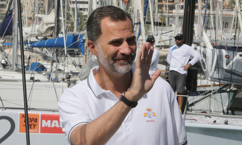 Don Felipe no faltará a su cita con la Copa del Rey MAPFRE de Vela