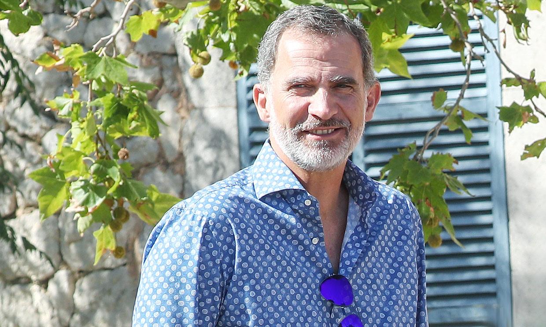 El Rey cena en Mallorca con su buen amigo, el cantautor Jaime Anglada