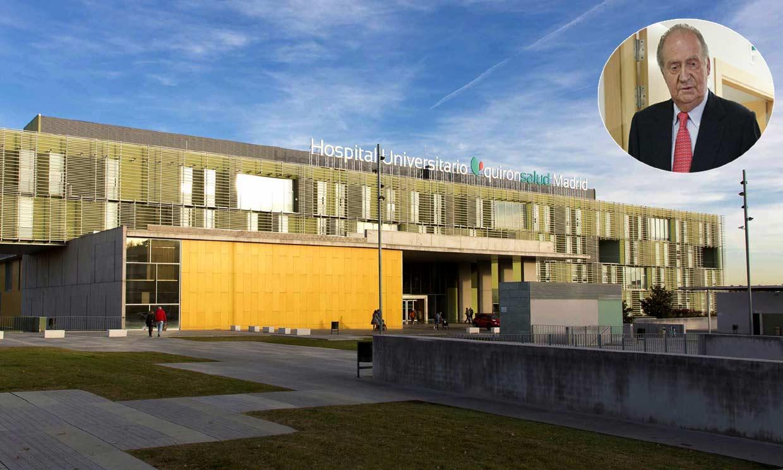 Así es el hospital en el que don Juan Carlos será operado de corazón