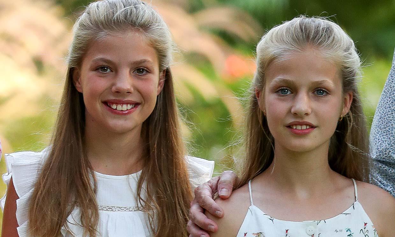 La princesa Leonor y la infanta Sofía ya preparan la vuelta al cole en un año decisivo