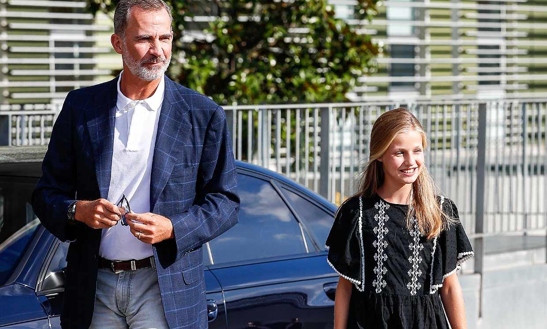 El Rey y su hija Leonor no se pierden la última película de Brad Pitt