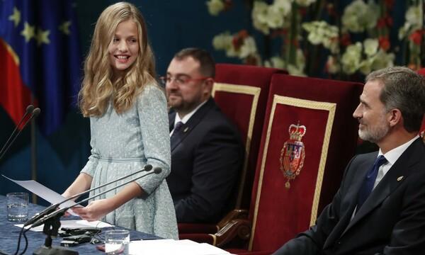 El histórico discurso de Leonor en los Premios Princesa de Asturias