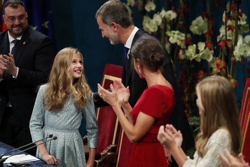 Princesa Leonor en los Premios Princesa de Asturias