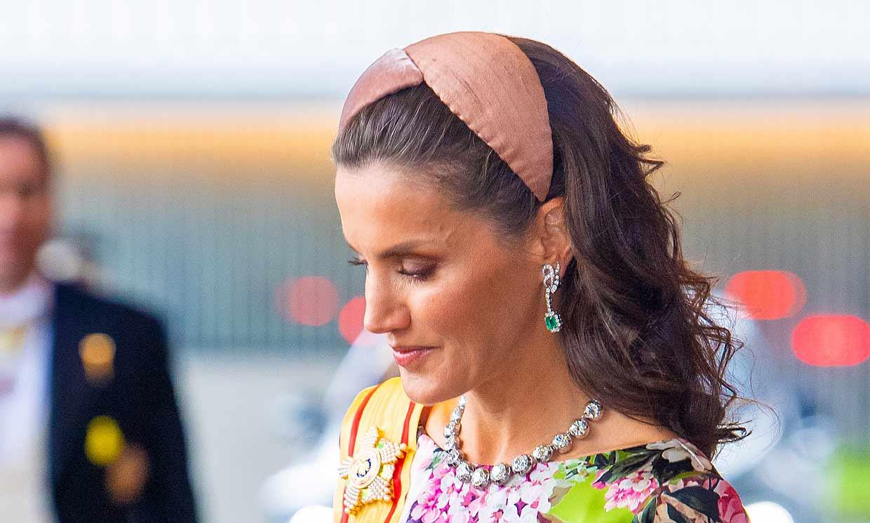 Doña Letizia estrena una de las piezas más valiosas del joyero real
