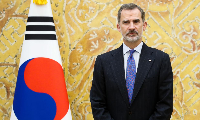El Rey recuerda su primera visita a Seúl con 20 años (y nosotros también)