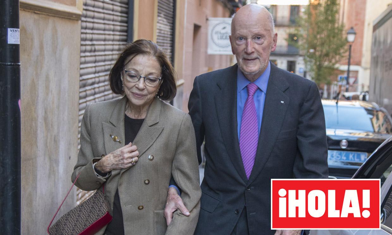 Quién es quién en la comida de amigos de los Reyes Juan Carlos y Sofía