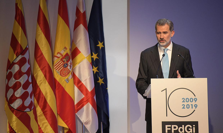 El Rey en los Premios Princesa de Girona: 'No pueden tener cabida ni la violencia, ni la intolerancia, ni el deprecio a los derechos y libertades de los demás'