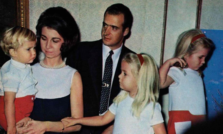 Un vistazo al pasado de las celebraciones navideñas de la Familia Real española