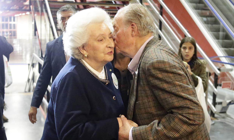 Fallece la infanta Pilar, hermana del rey Juan Carlos