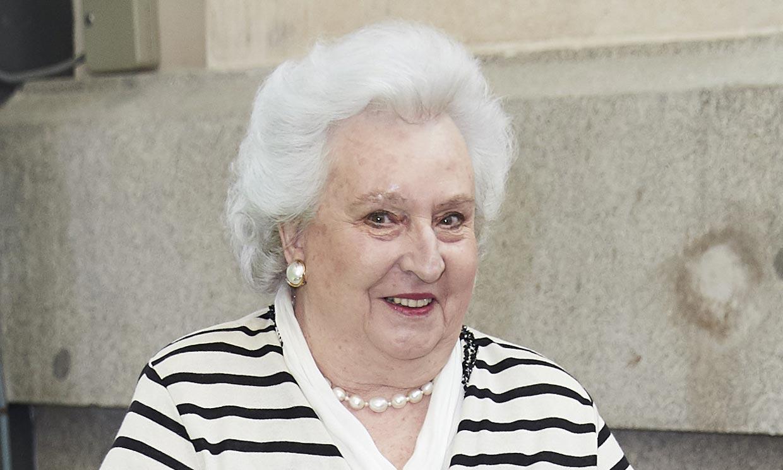 Numerosas personalidades envían sus condolencias a la Familia Real por la muerte de la infanta Pilar