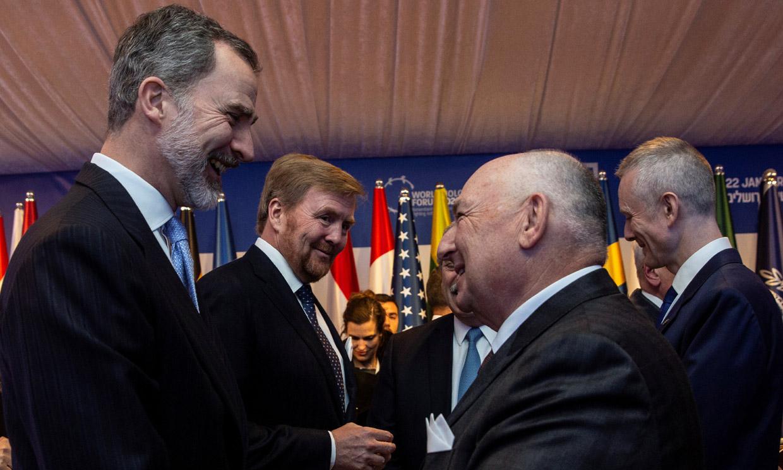 Felipe VI, Rey de España y de Jerusalén, proclama 'nunca más' ante los 40 mandatarios asistentes al V Foro Mundial del Holocausto