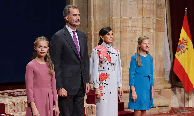 Ya hay fecha para el primer acto oficial de 2020 de la princesa Leonor y la infanta Sofía