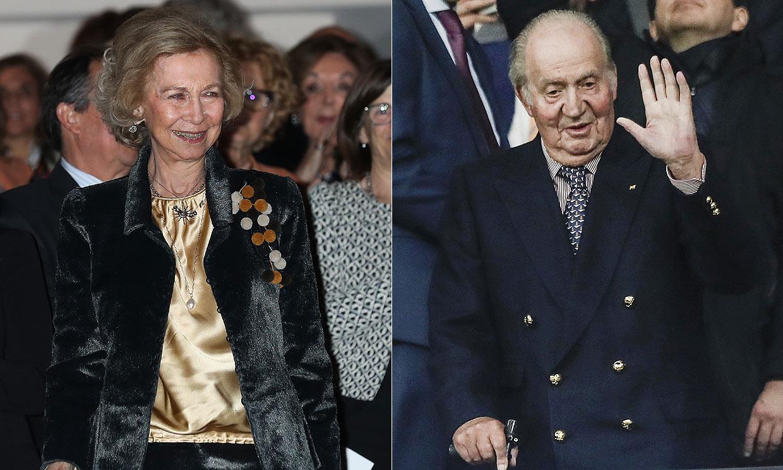 Tú al fútbol y yo de concierto: los planes por separado de don Juan Carlos y doña Sofía