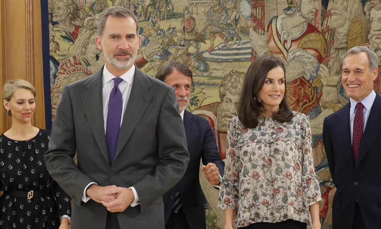 Doña Letizia se reencuentra con el mundo de la televisión 16 años después