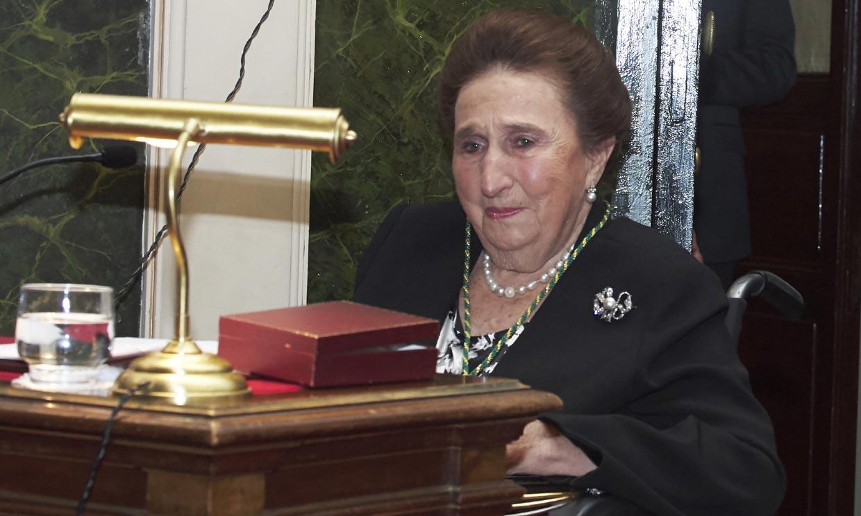Doña Margarita, la 'super infanta' que caminaba por las cornisas de los castillos, cumple 81 años