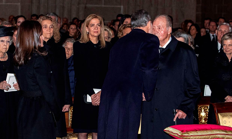 Los encuentros de los Reyes desde que don Felipe supo que supuestamente era beneficiario de una fundación