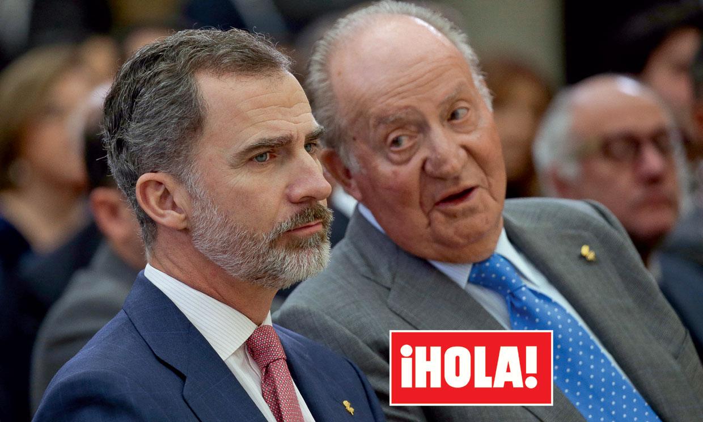 En ¡HOLA!, Felipe VI toma una decisión histórica y rompe su vínculo con el rey Juan Carlos