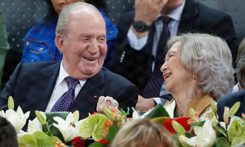 El 58º aniversario de boda de don Juan Carlos y doña Sofía, marcado por el confinamiento