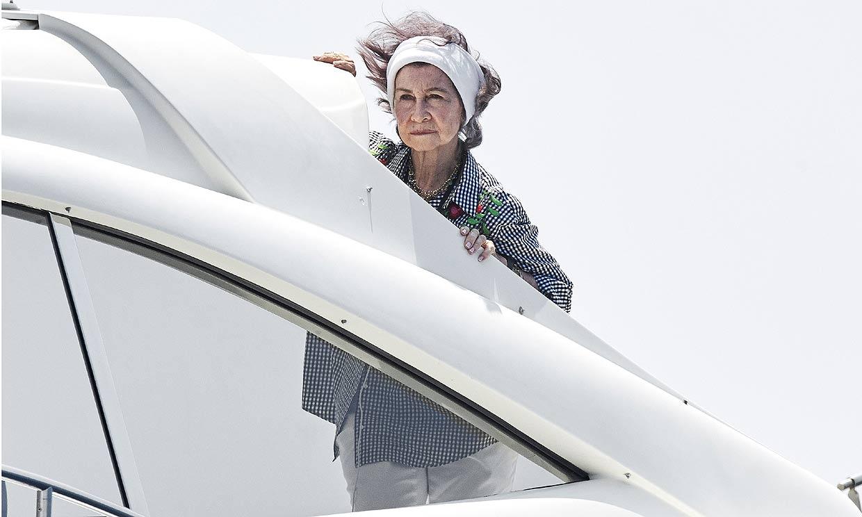 Doña Sofía ya prepara las maletas para viajar a Palma de Mallorca