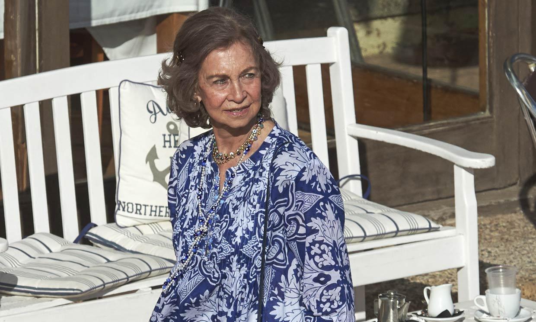 La reina Sofía ya está en Palma de Mallorca para pasar sus vacaciones