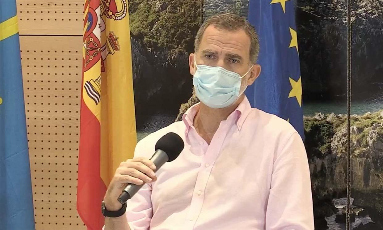 El Rey, tras su gira por España: 'Saldremos adelante con unión, responsabilidad y solidaridad'