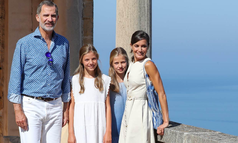 Las vacaciones de los Reyes y sus hijas en Mallorca serán muy diferentes a años anteriores