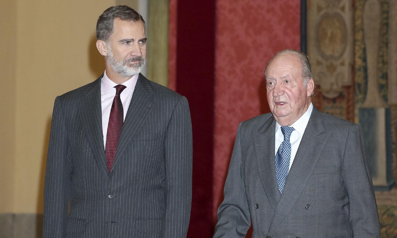 El rey Felipe agradece la decisión de su padre de dejar España