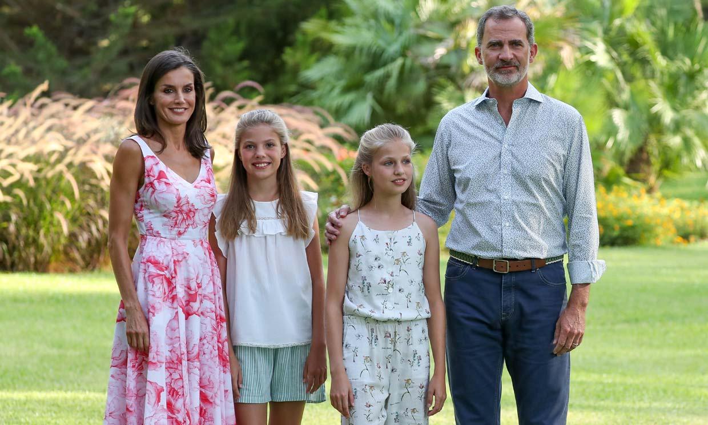 La próxima vez que veamos al rey Felipe, acompañado de doña Letizia y sus hijas, será en Mallorca