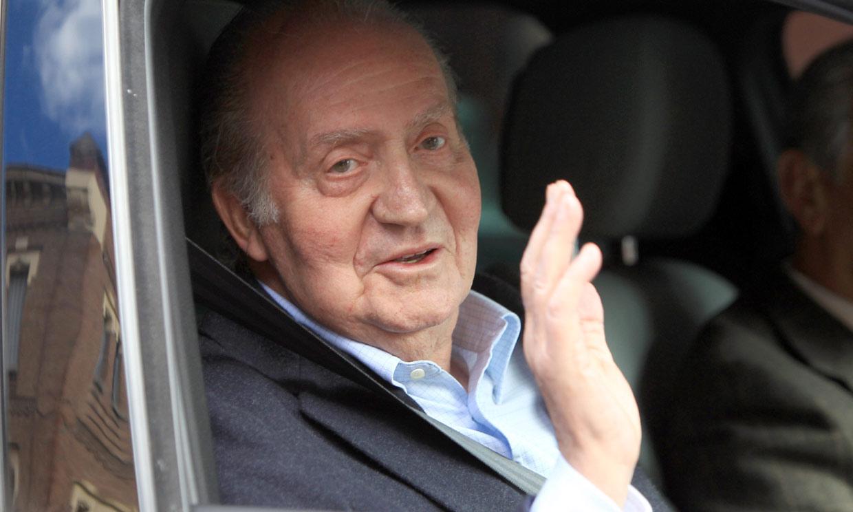 Don Juan Carlos ya se encuentra fuera de España
