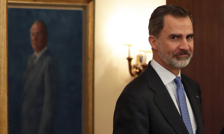 El rey Felipe reaparecerá este jueves tras la decisión de su padre
