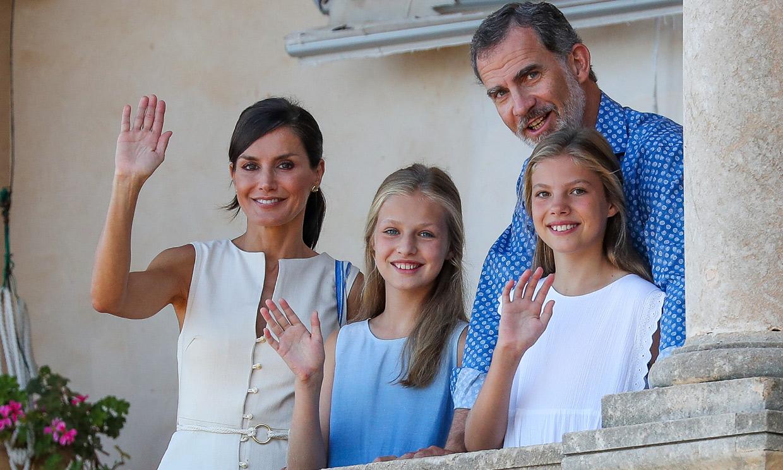 Leonor y Sofía visitarán con los Reyes una casa museo y un proyecto socioeducativo en Mallorca
