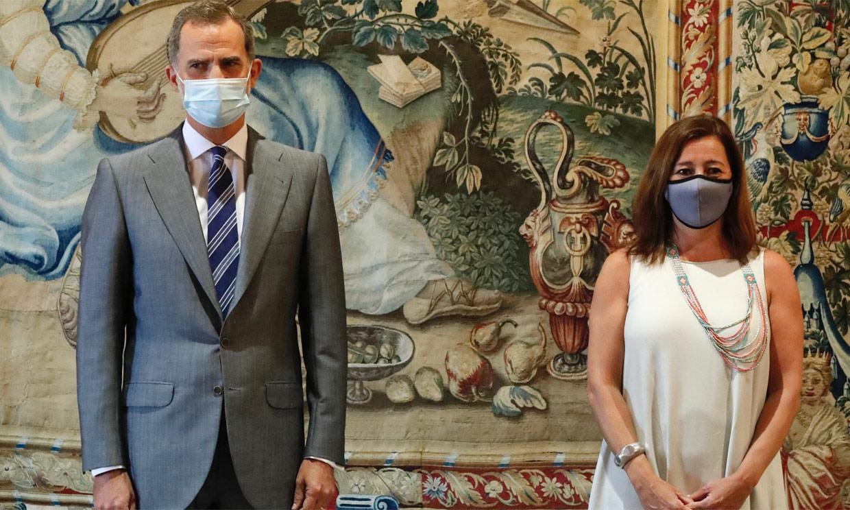 Felipe VI comienza con su agenda oficial en Palma de Mallorca