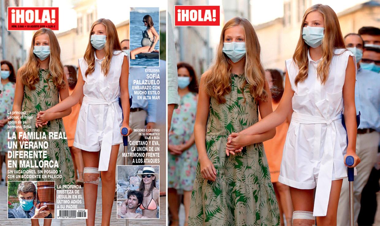 En ¡HOLA!: la Familia Real, un verano diferente en Mallorca