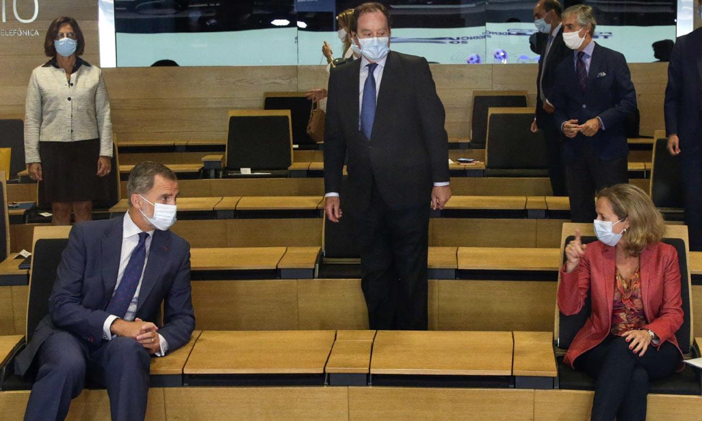 El Rey, con la élite política y económica en un foro sobre los desafíos tras la pandemia