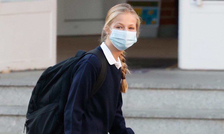 La princesa Leonor regresa al colegio tras el confinamiento