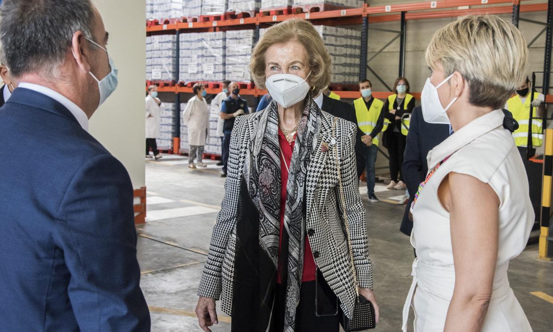 La reina Sofía se vuelca con los que peor lo están pasando