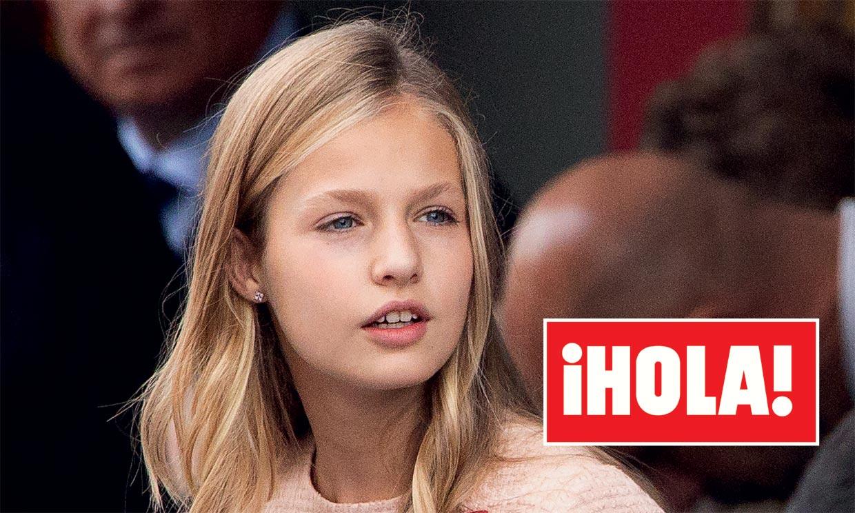 En ¡HOLA!, la princesa Leonor, al cumplir 15 años: los retos que le esperan como princesa de Asturias