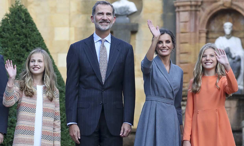 Esta es la agenda completa (y con muchas novedades) de los Reyes y sus hijas en Asturias