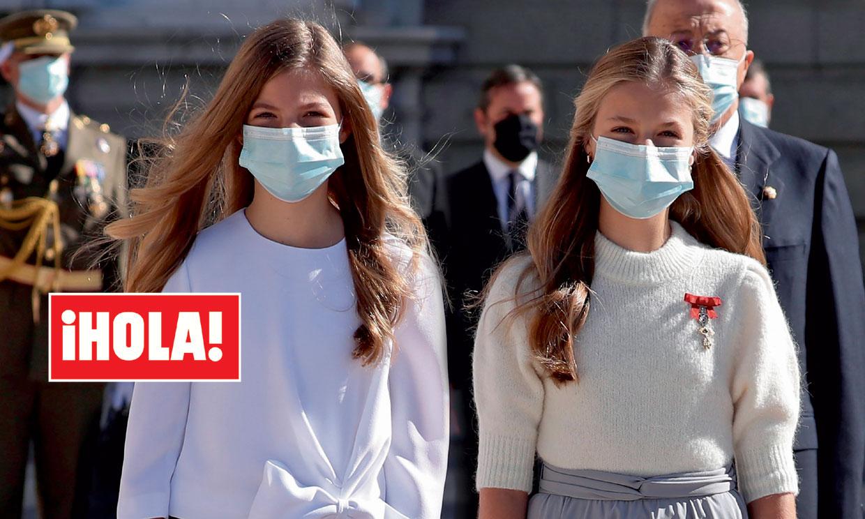 En ¡HOLA!, el golpe de efecto de la princesa Leonor y la infanta Sofía