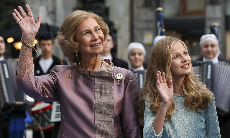 La significativa presencia de la reina Sofía en los Premios Princesa de Asturias