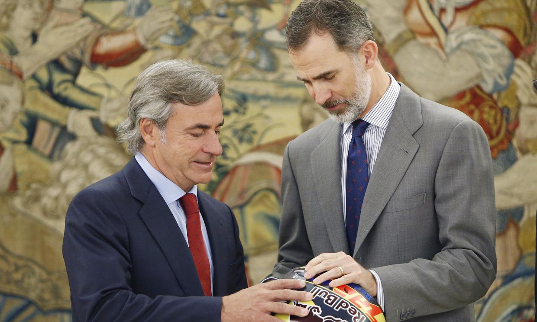 Carlos Sainz y Felipe VI, una buena sintonía con treinta años de historia