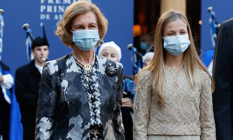 La reina Sofía, 'el hilo conductor' de los Premios Princesa de Asturias