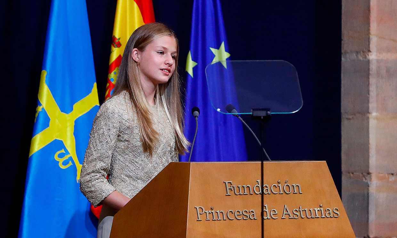La princesa Leonor: 'Tengo casi 15 años, sigo muy de cerca lo que ocurre en nuestro país'