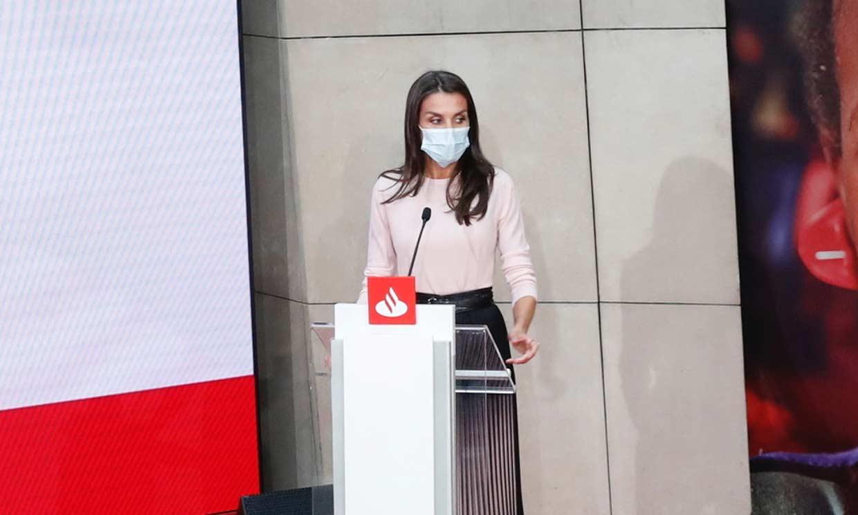 Doña Letizia: 'Yo confío en mi país'