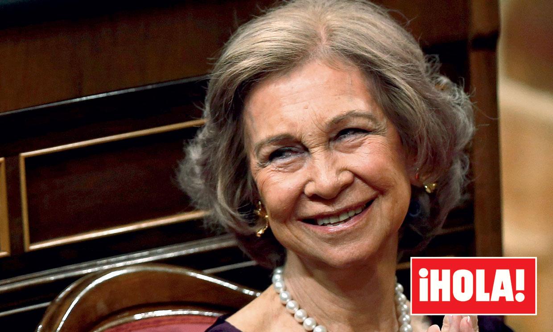 En ¡HOLA!, doña Sofía en su cumpleaños: la verdad de su vida hoy
