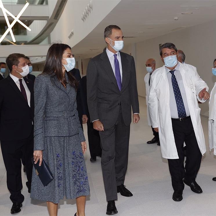 Los Reyes inauguran un nuevo hospital en Toledo en plena segunda ola de la pandemia