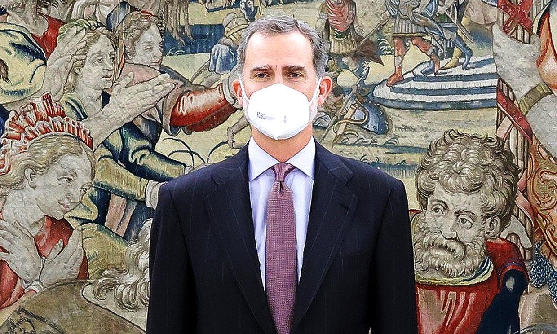 El rey Felipe, en cuarentena tras estar en contacto con un positivo en coronavirus