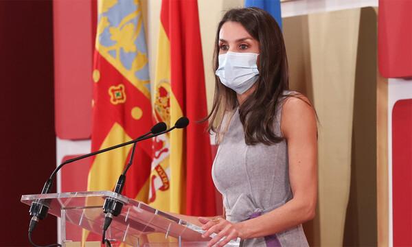 La reina Letizia sorprende con un discurso en valenciano