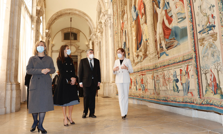 Doña Letizia, de Valencia al Palacio Real en su semana más atípica y 'solitaria'
