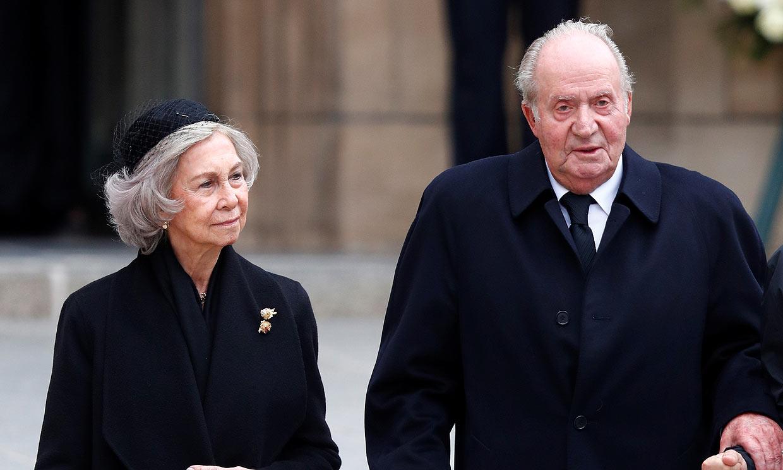Don Juan Carlos y doña Sofía recuperan la tradición navideña en su 'christmas' de este año